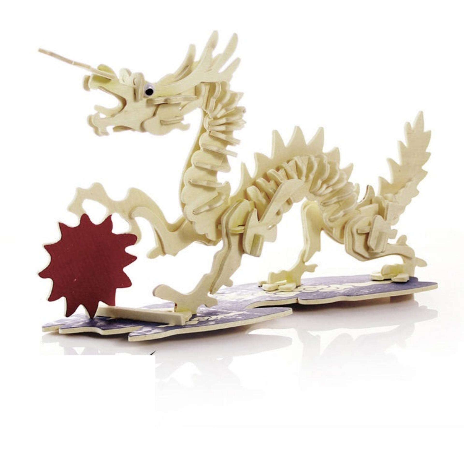Hình ảnh Đồ chơi lắp ráp Mô hình Lucky Dragon