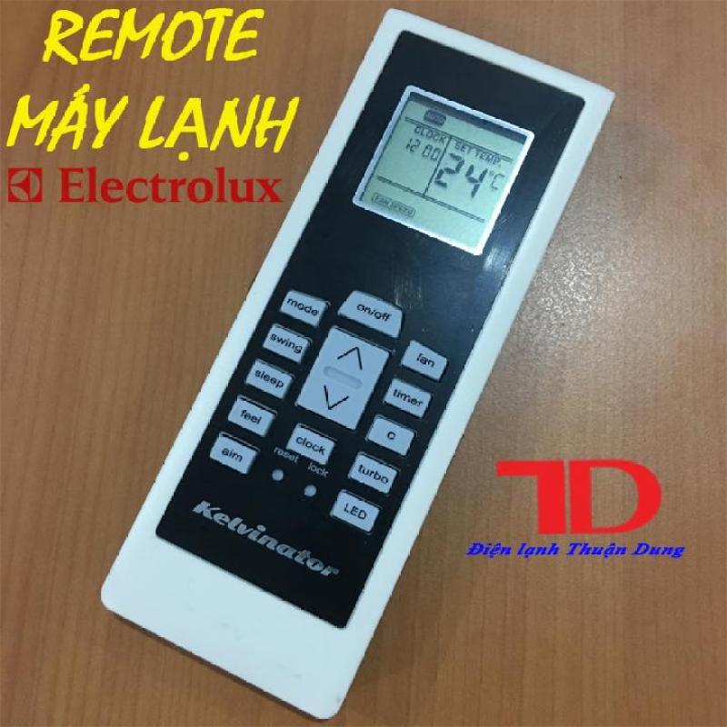 Remote máy lạnh ELECTROLUX mặt đen