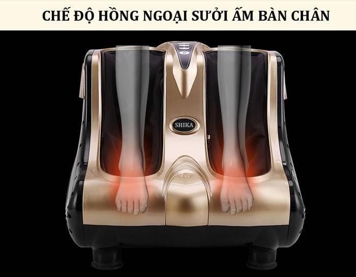 Máy massage chân cao cấp legs ksr-c11.Mát xa bàn chân và bắp chân(hàng Nhật Bản)