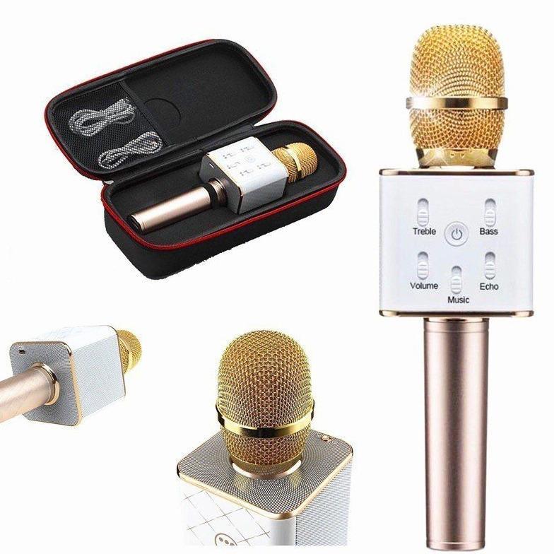 Micro Karaoke Bluetooth Thế Hệ Mới 2017 Kiem Loa Q7 3 Trong 1 Hà Nội Chiết Khấu