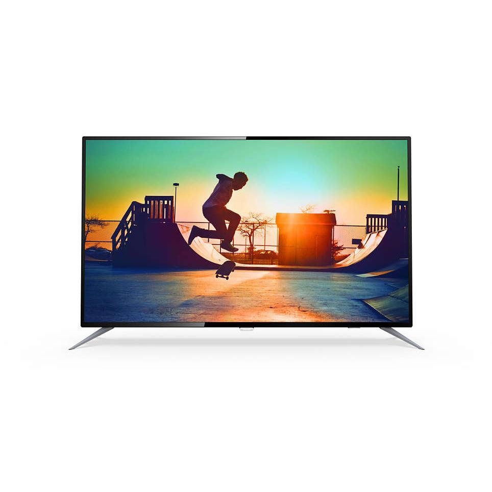 TV Internet Led thông minh siêu mỏng Ultra 4K 50 inch Philips 50PUF6152/T3 - Hàng nhập khẩu Hồng Kông