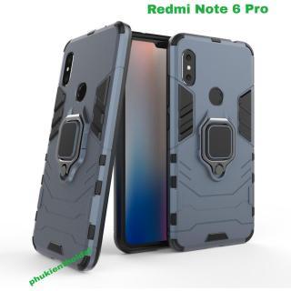 Ốp lưng chống sốc Xiaomi Redmi Note 6 Pro Iron Man Iring cao cấp thumbnail