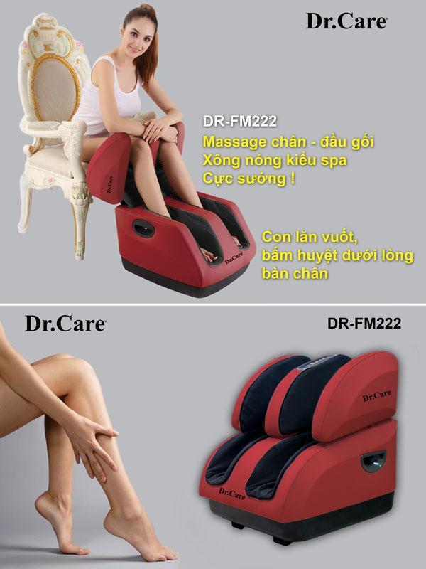 máy massage chân đầu gối của Drcare - Model FM222 ( giảm giá sốc) nhập khẩu