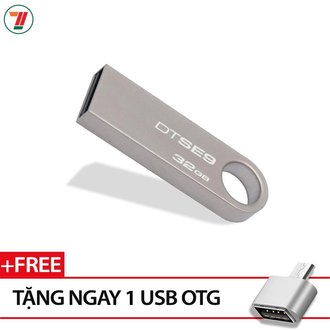 Hình ảnh USB Kingston DataTraveler SE9 32GB (Màu Bạc)- Bảo hành 5 năm lỗi 1 đổi 1
