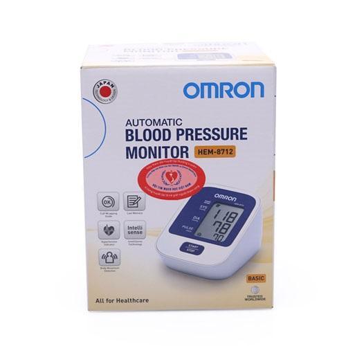 Hình ảnh Máy đo huyết áp Omron HEM 8712