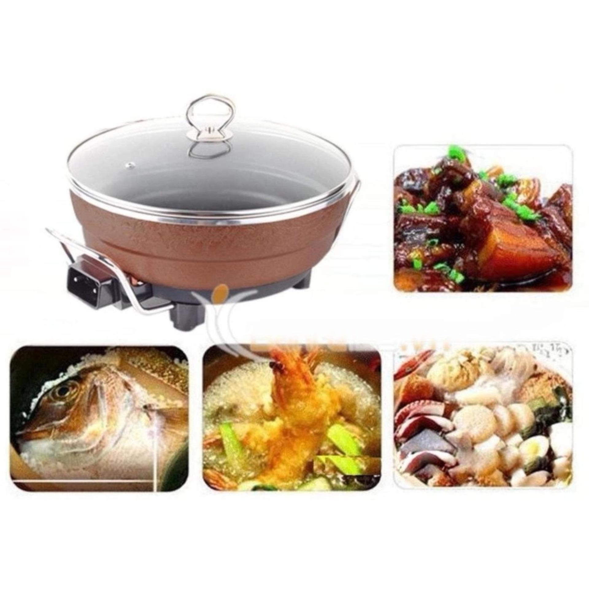Nồi Hầm Xương Công Nghiệp, Nồi Lẩu Điện Đa Năng , nồi nấu cháo cho bé, chảo điện , nồi nấu lẩu mini.