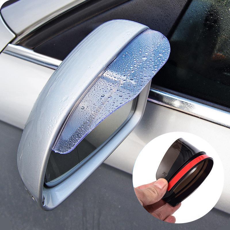 Bộ 2 Miếng vè che mưa, chống nước mưa, che nắng gương xe ô tô, xe hơi