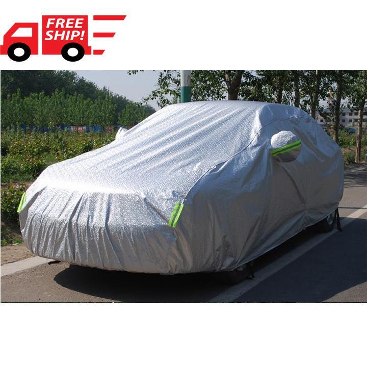Bạt xe hơi ,Bạt phủ xe hơi , Tấm, áo trùm che phủ xe hơi, Bạt phủ xe ôtô tráng nhôm bạc 4 chỗ, 2 lớp chống nóng, mưa, xước sơn,bat phu xe hoi,bat xe hoi,bat phu o to,bat phu oto,bat o to,bat oto, vân 4D (BPX) _ xám