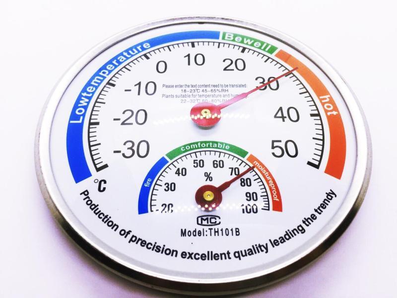 [Flash Sale] Nhiệt ẩm kế đo nhiệt độ, độ ẩm trong phòng và ngoài trời