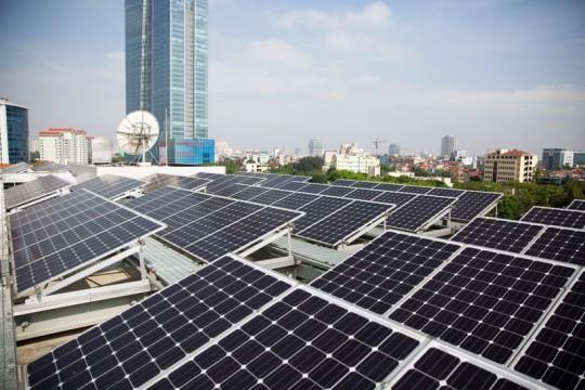 combo điện mặt trời hòa lưới 3kw mono fox