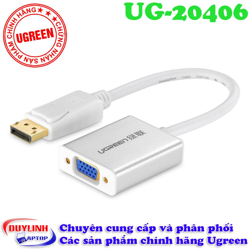 Adapter Displayport To Vga - Mini Displayport Ugreen 20406 By Duylinhlaptop.