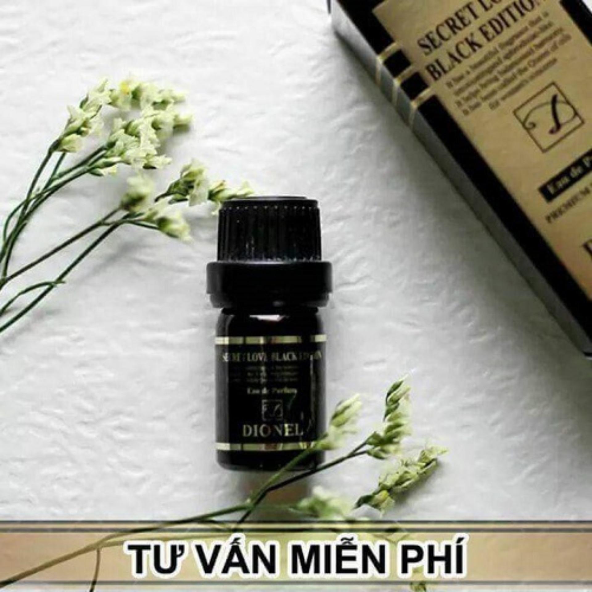 [Sản Phẩm HOT] Nước hoa vùng kín Dionel đen 5ml