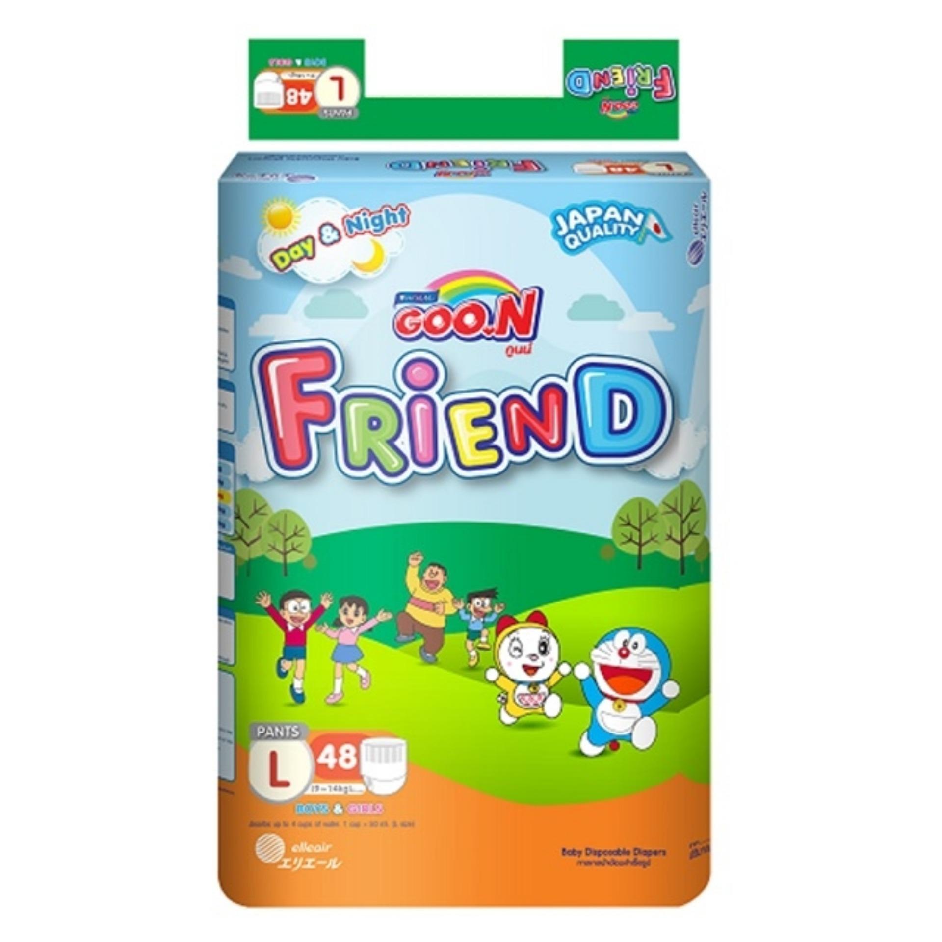 Bỉm Quần Goon Friend S62/M58/L48/XL42/XXL34 Có Giá Cực Tốt