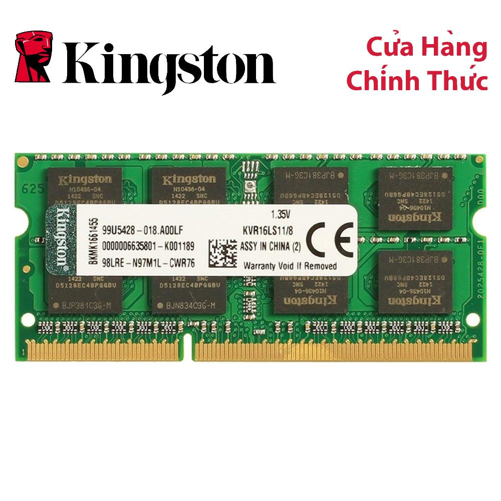 Giá RAM Kingston ValueRAM DDR3L 1600MHz 8GB Laptop Memory (KVR16LS11/8)