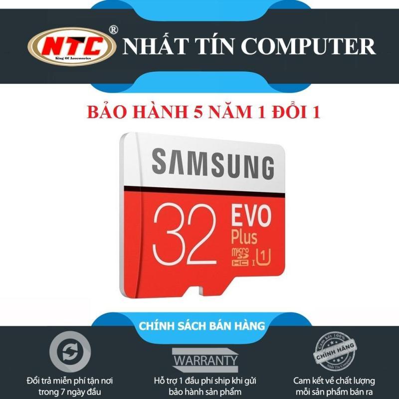 Thẻ nhớ MicroSDHC Samsung Evo Plus 32GB UHS-I U1 95MB/s - không box (Đỏ) - Bảo hành 5 năm