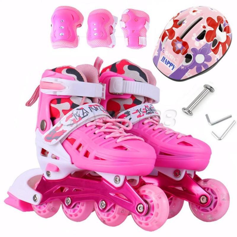 Phân phối Giày Trượt Patin Nữ, Giày Trượt Patin Giá Rẻ Khung Xương Thép Chắc Chắn Nâng Đỡ Cơ Thể Tạo Cảm Giác An Toàn Cho Bé Yêu