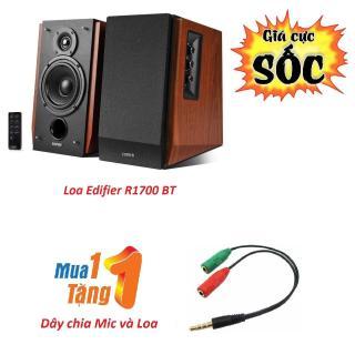 Loa kiểm âm cao cấp Edifier R1700 BT 2.0 - Tặng kèm Dây chia mic và loa loại tốt thumbnail
