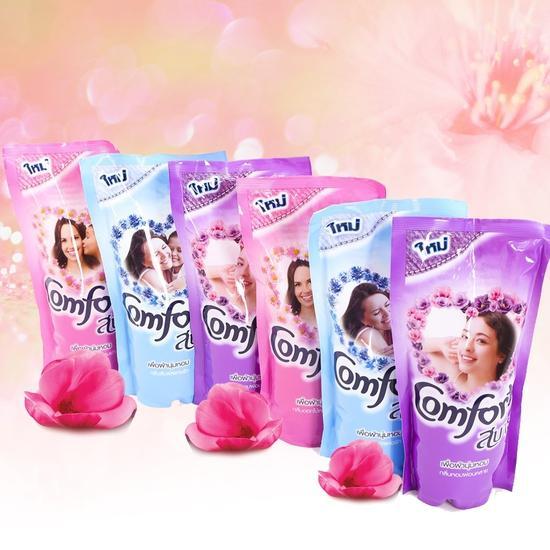 Hình ảnh Combo 6 gói Nước xả vải Comfort Thái 580ml (mỗi gói 580ml )