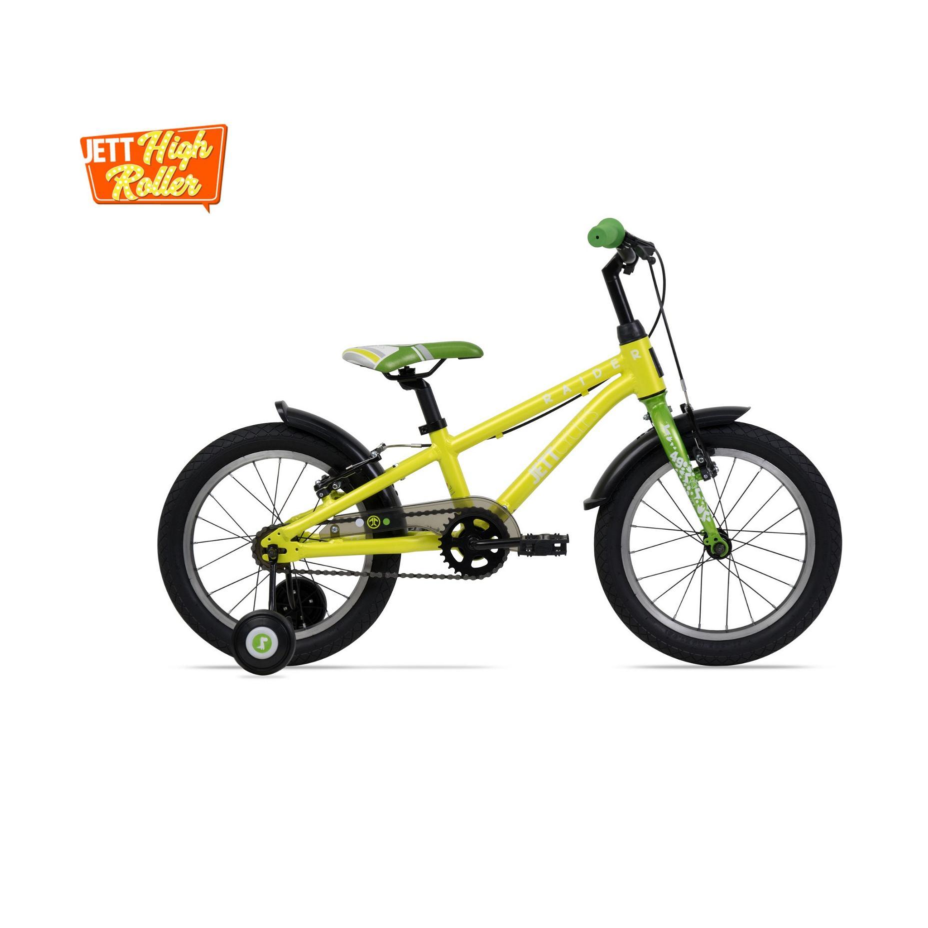 Giá bán Xe đạp trẻ em Jett Cycles Raider (Vàng Neon)