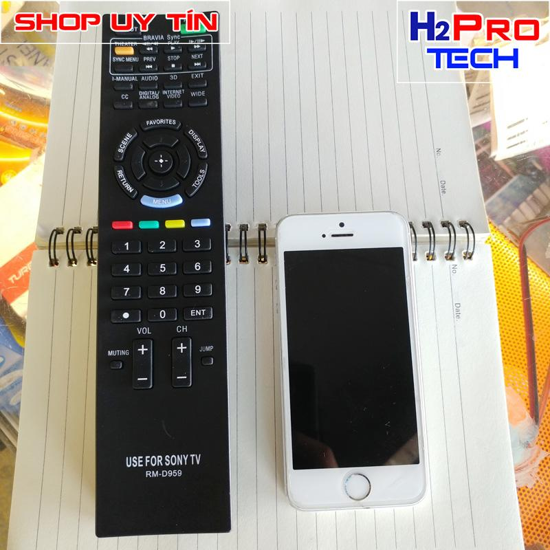 Hình ảnh Điều khiển tivi Sony Bravia LCD/LED/Plasma Remote (RM-D959) ( tặng đôi pin )