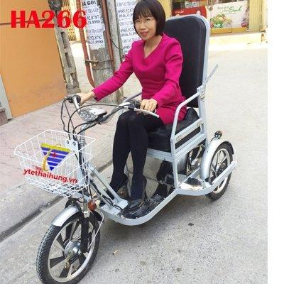 Xe lăn điện 3 bánh HA268GT cho người khuyết tật, người già chính hãng