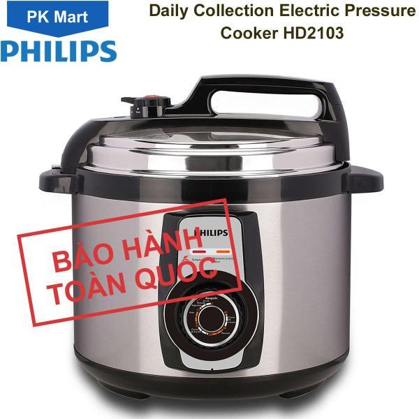 Bảng giá Nồi áp suất điện Philips HD2103 5.0 lít (Bạc) - Hàng chính hãng (Bảo hành 2 năm tại các Trung tâm bảo hành Philips trên toàn quốc) Điện máy Pico
