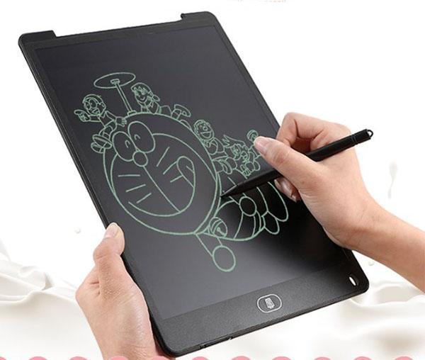 Hình ảnh Bảng viết vẽ điện tử thông minh có thể tự xóa bằng nút cảm ứng tiện ích cho bé