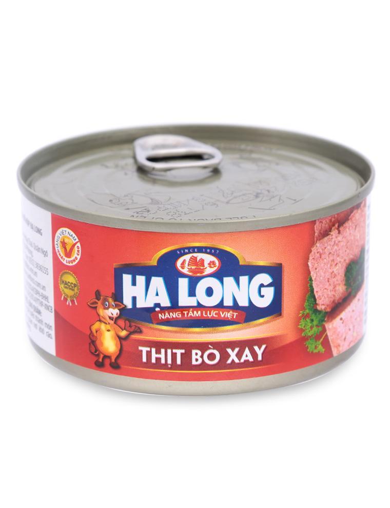 Thịt Bò Xay Hạ Long Canfoco Hộp 170 G
