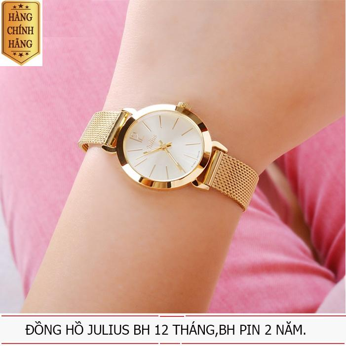 Hình ảnh Đồng hồ nữ JULIUS JU970 vàng