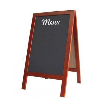 Mua Bảng menu 2 mặt Romana chân đứng (60x120cm) thiết kế sang trọng