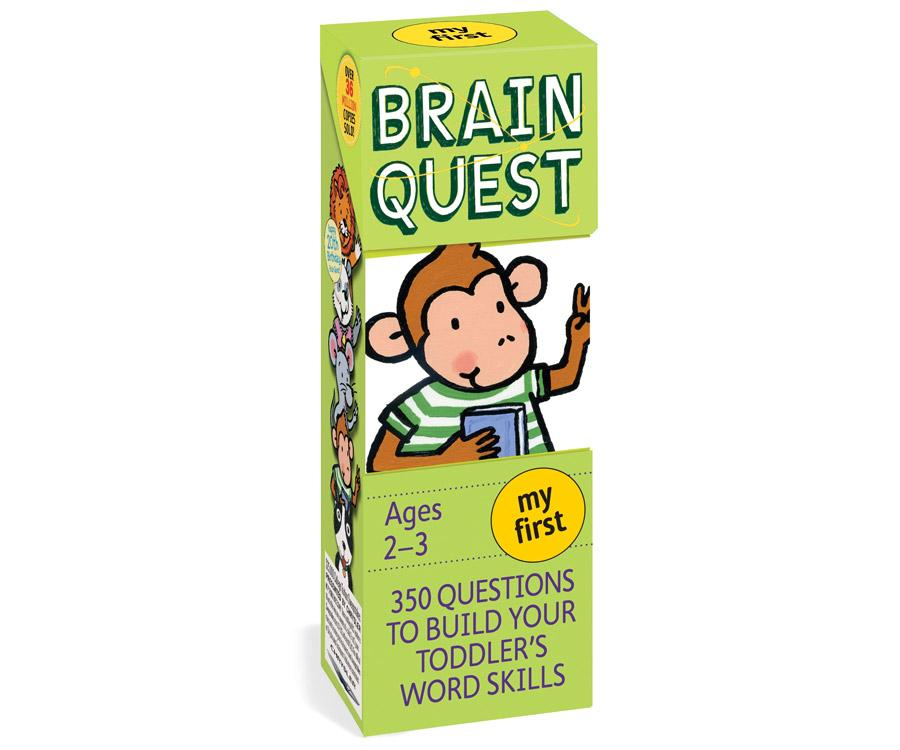 Bộ Thẻ Học Tiếng Anh - My First Brain Quest By Sách Thiếu Nhi Mẹ Ong Nâu.