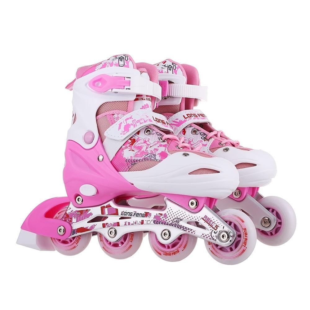 Giày trượt patin Longfeng 906 có đèn cao cấp (3 mầu cơ bản)