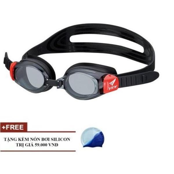 Kính Bơi Trẻ em View V730 + tặng mũ bơi silicon