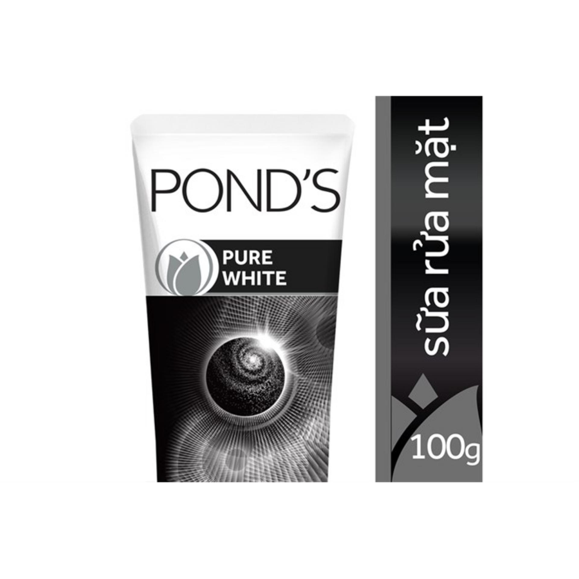 Ponds Sữa Rửa Mặt Trắng Da Tinh Khiết (đen)100g
