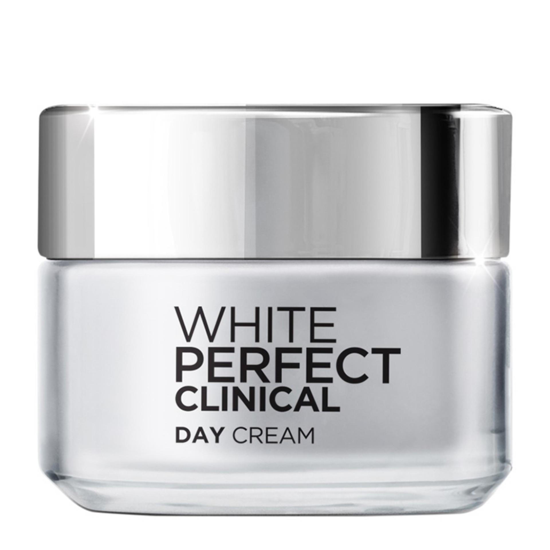 Kem dưỡng ban ngày giảm thâm nám và trắng mịn LOreal White Perfect Clinical SPF19 PA+++ 50ml