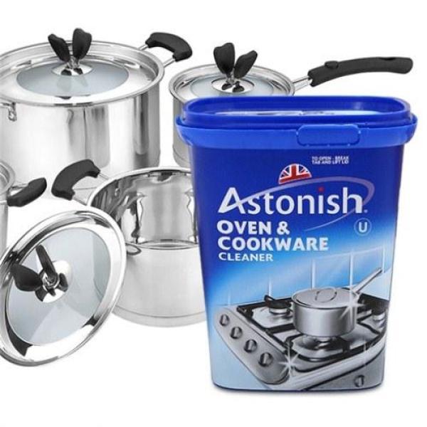 Chất tẩy rửa đồ dùng nhà bếp Astonish Oven & Cookware Cleaner