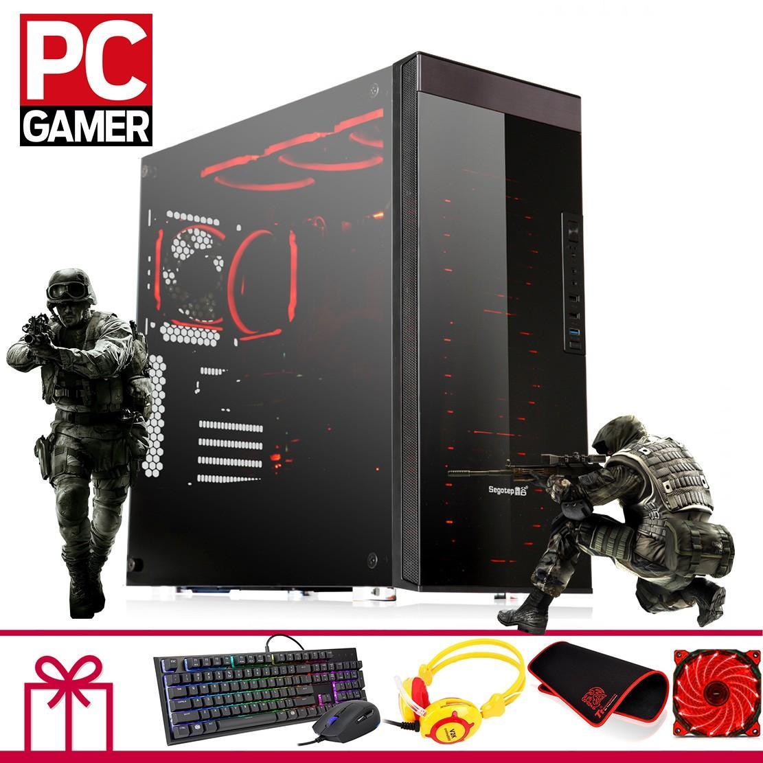 Hình ảnh Máy tính chiến Game Khủng (Pentium G2030, Ram 4GB, HDD 2TB, VGA GTX1050 2GB ) KH24GMBG35 + Quà Tặng