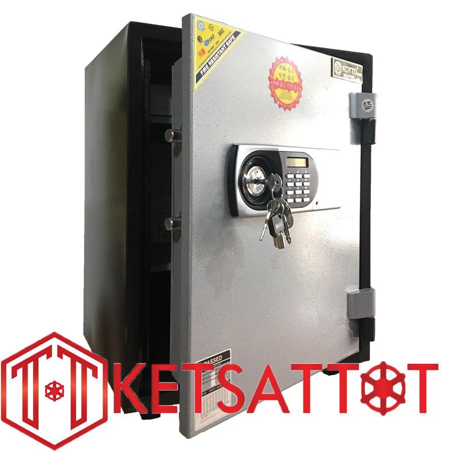 Két sắt chống cháy cao cấp Koyto KY55D ( khóa điện tử báo động )