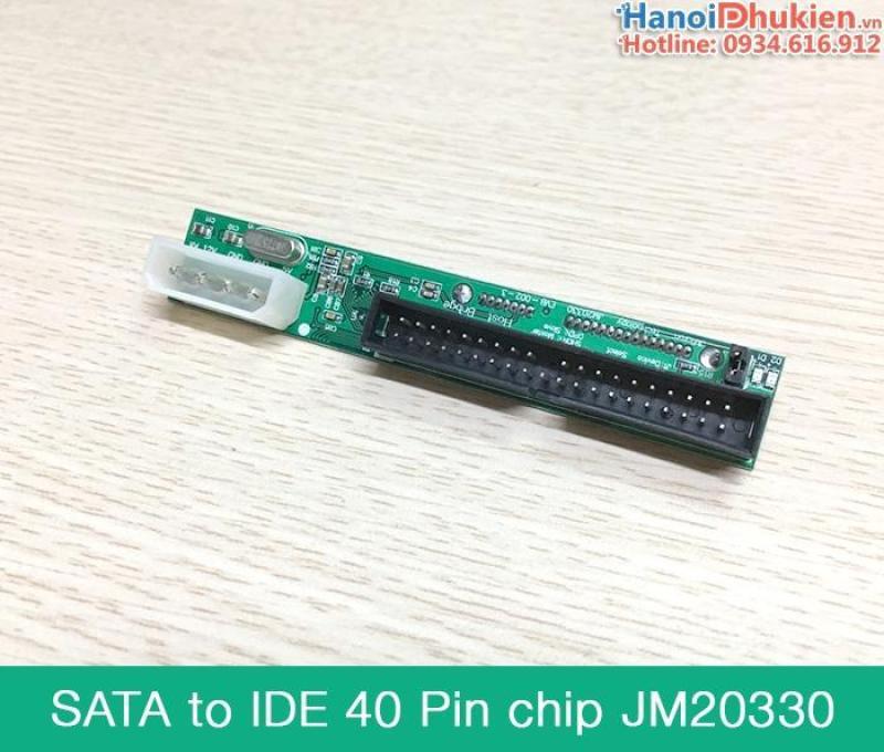 Bảng giá Adapter SATA sang ATA 40pin 3.5 inch chip JM20330 Phong Vũ