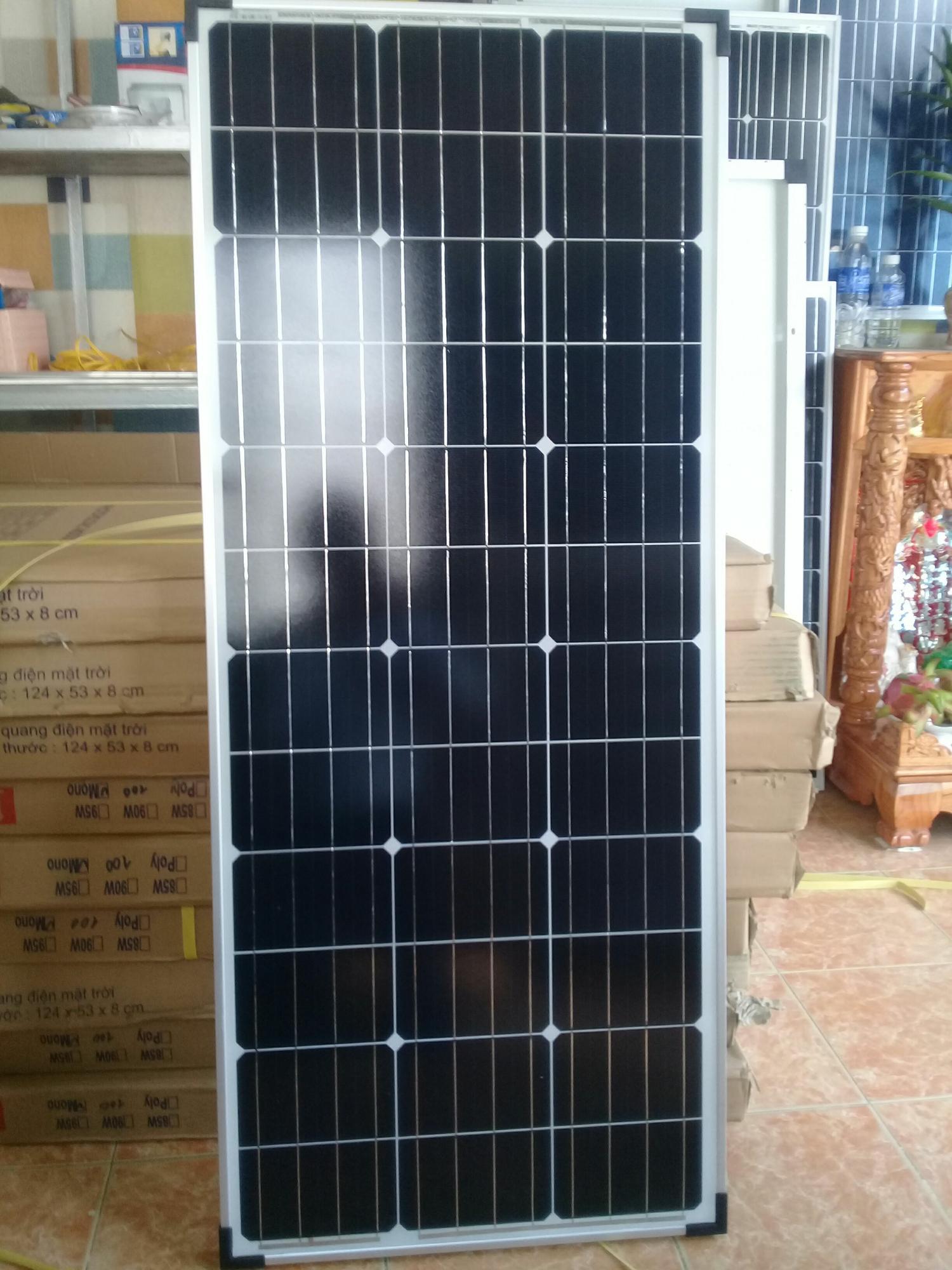 Tấm pin năng lượng mặt trời 100W Mono (Red Sun energy JSC)