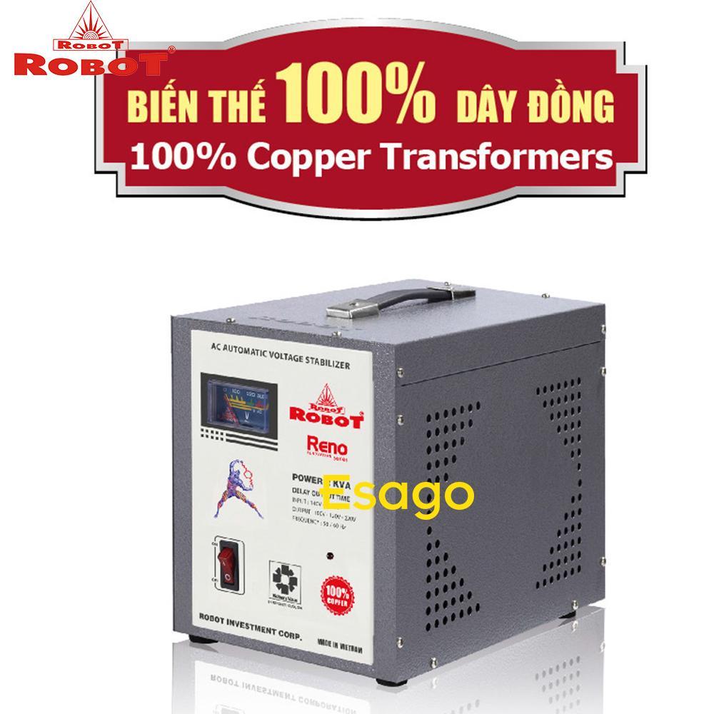 Ổn áp 1 pha Robot 1KVA 140V-250V RENO817140250-1KVA