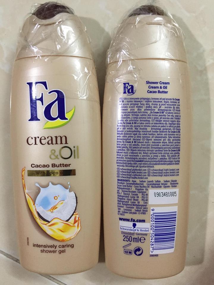 Sữa tắm FA Đức – 250ml