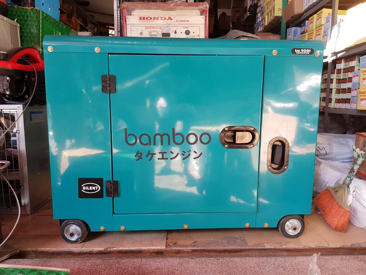 Máy phát điện bamboo BMB 9800ET new 7.5Kw, chống ồn