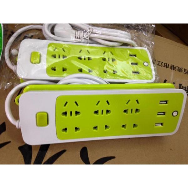 ổ cắm điện chống giật đa năng kèm 3 cổng usb giá rẻ