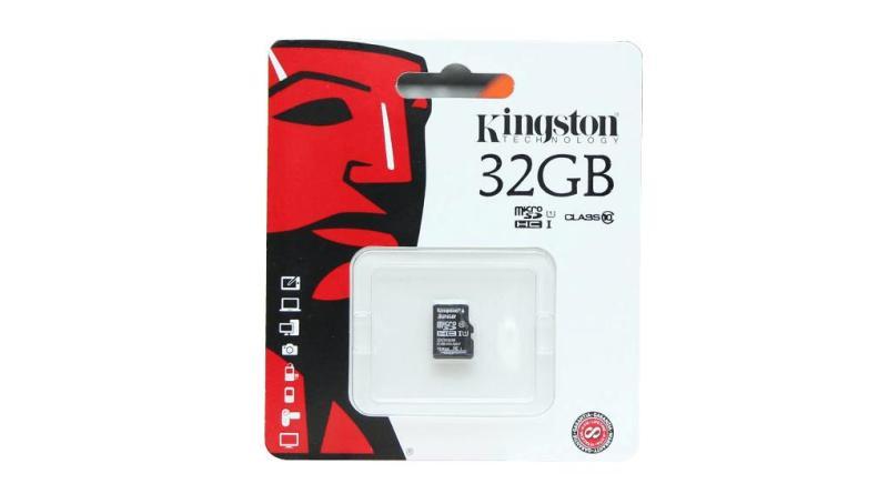 Thẻ nhớ Kingston 32gb U1 80Mb/s chuyên dùng camera hành trình