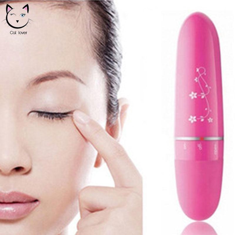Máy Massage Mắt  làm giảm thâm , săn chắc vùng da quanh mắt (màu hồng)