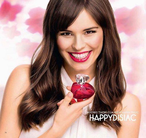 nước hoa Happydisiac Woman hương dâu và hương lài