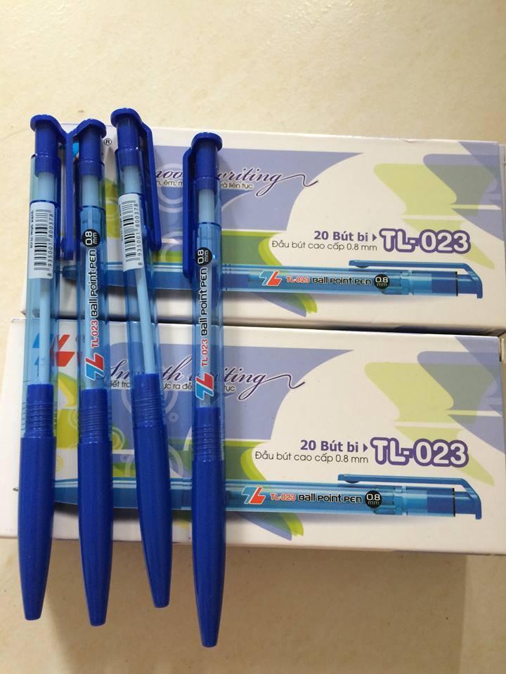 Mua 3 hộp bút bi thiên long 023 ( 60 cái )