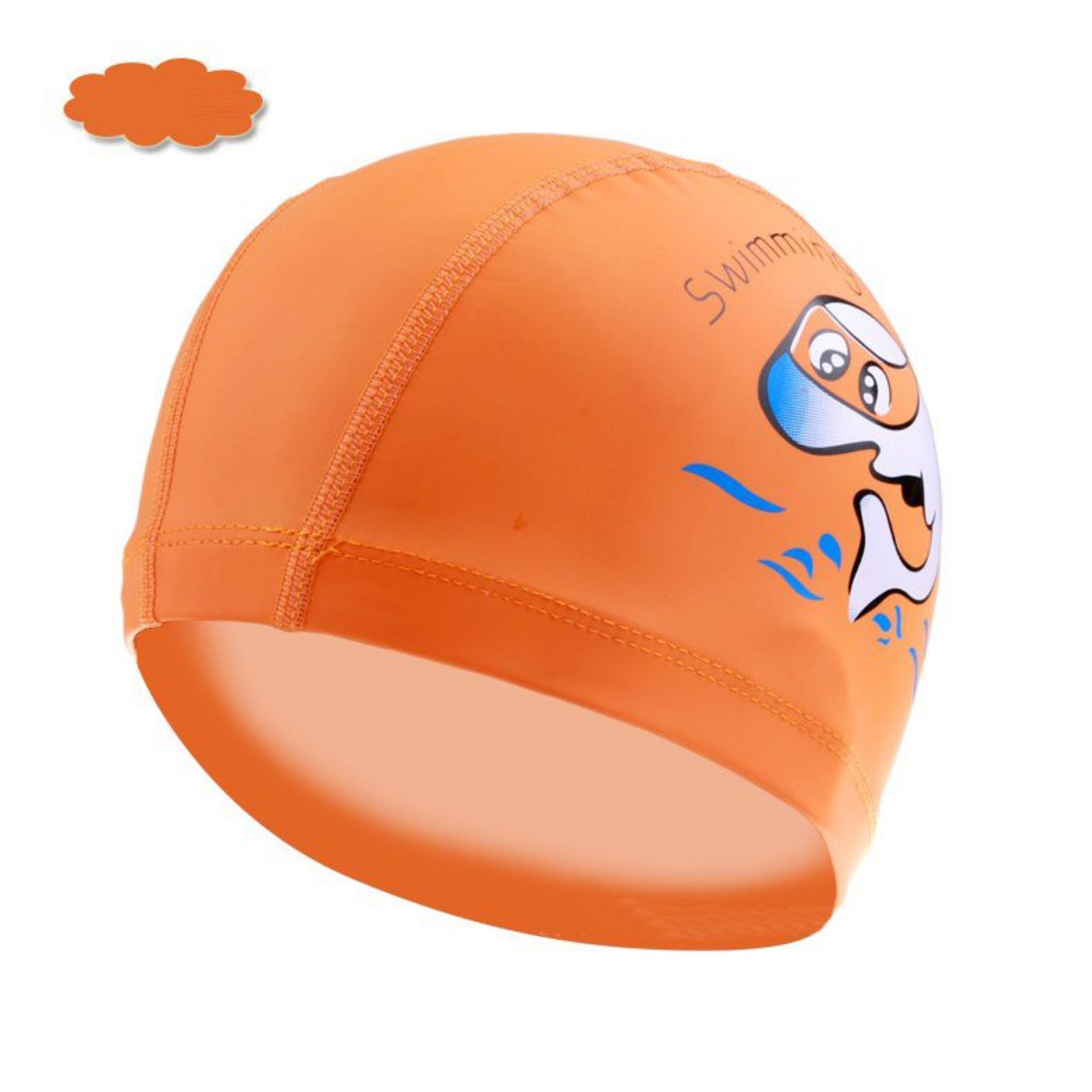 Mũ bơi trẻ em ngộ nghĩnh chất liệu an toàn mang đếm cảm giác mềm mại khi đội cho bé POPO Collection