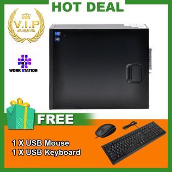Máy tính đồng bộ Mini HP Elite Desk 800 G1 Ultra Slim Mini PC (Core I7 4770s, Ram 12GB, SSD 120GB) Chất Lượng Tốt + Quà Tặng - Hàng Nhập Khẩu